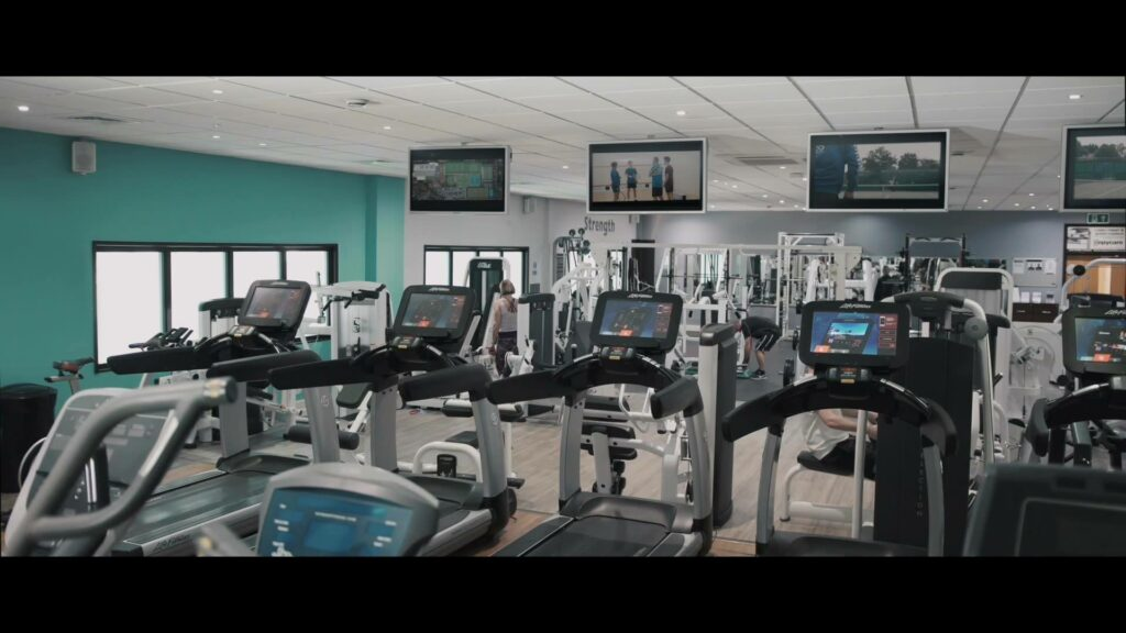 Gym with tennis courts near me