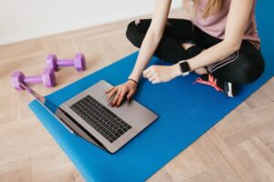 Regular exercise can improve our mental wellbeing during lockdown